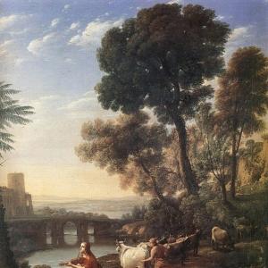 Клод Лоррен - Аполлон, сторожащий стадо Адмета