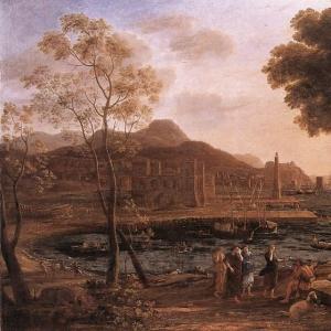Клод Лоррен - Гавань и горюющие Гелиады