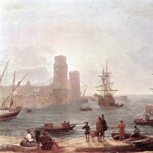 Клод Лоррен - Отплытие Улисса из земли феаков