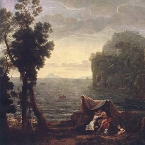 Клод Лоррен - Пейзаж с Акидом и Галатеей