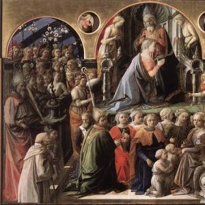 Филиппо Липпи - Коронование Богоматери (1441-47)
