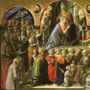 Филиппо Липпи - Коронование Богоматери