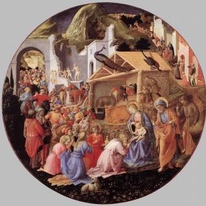Филиппо Липпи - Поклонение волхвов