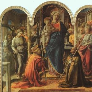 Филиппо Липпи - Мадонна и младенец, 1440-45