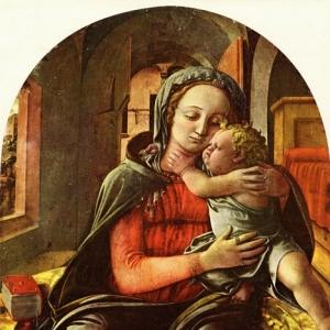 Филиппо Липпи - Мадонна и младенец 2