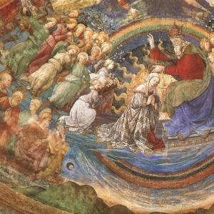 Филиппо Липпи - Коронование Мадонны, кафедральный собор в Сполето