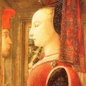 Филиппо Липпи - Мужчина и женщина у створного окна