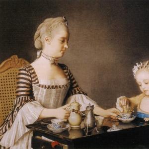 Жан Этьен Лиотар - Завтрак