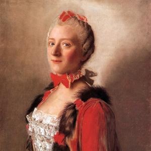 Жан Этьен Лиотар - Портрет женщины в костююме