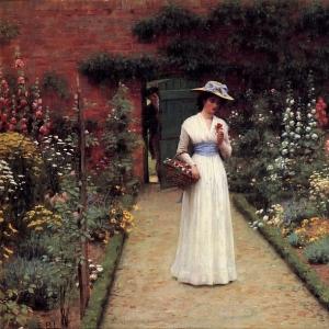 Эдмунд Блэр Лейтон - Розовый сад