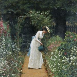 Эдмунд Блэр Лейтон - Мой дамский сад