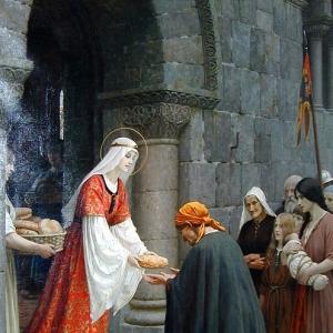 Эдмунд Блэр Лейтон - Благотворительность святой Елизаветы Венгерской