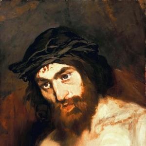 Мане Эдуард - Голова Христа