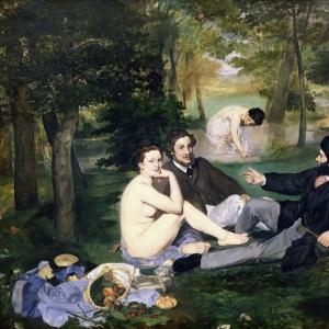 Мане Эдуард - Завтрак на траве