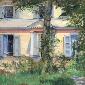 Мане Эдуард - Дом в Рюэе