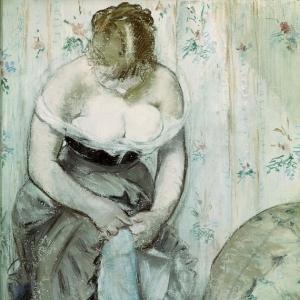 Мане Эдуард - Дама за туалетом
