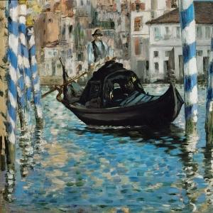Мане Эдуард - Большой канал в Венеции