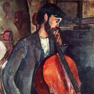 Амедео Модильяни - Виолончелист, 1909