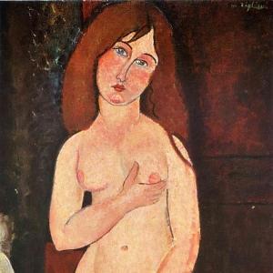 Амедео Модильяни - Венера, 1918