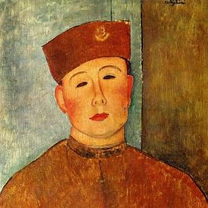 Амедео Модильяни - Зуав, 1918