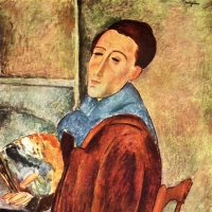 Амедео Модильяни - Автопортрет, 1919