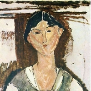 Амедео Модильяни - Беатрис Хастингс, ок.1915-16