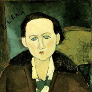 Амедео Модильяни - Елена Павловская, 1917