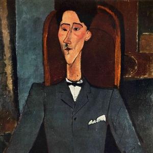 Амедео Модильяни - Жан Кокто, 1917