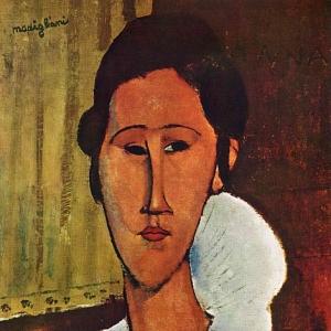 Амедео Модильяни - Анна Зборовская, 1917