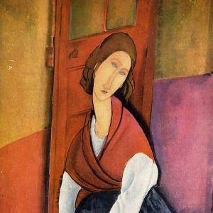 Амедео Модильяни - Жанна Эбютерн, 1918