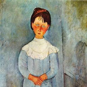 Амедео Модильяни - Девочка в голубом