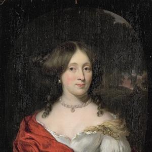 Маес Николас - Белихье Хульфт (1656-1714), супруга Герарда Рёвера, амстердамского купца и судовладельца, 1675-1693
