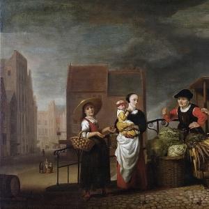 Маес Николас - Овощной рынок