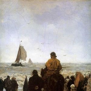 Якоб Марис - Прибытие рыбацких лодок