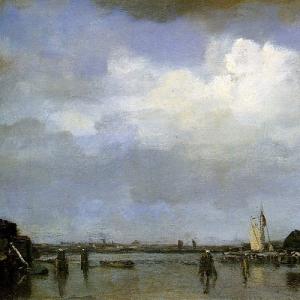 Якоб Марис - Вид на гавань