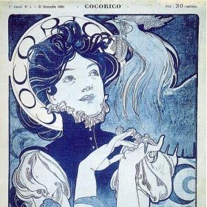 Муха Альфонс Мариа - Журнал -Кукареку-, обложка