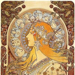 Муха Альфонс Мариа - Зодиак, 1896