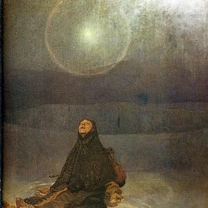 Муха Альфонс Мариа - Женщина в степи-, 1923