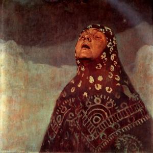 Муха Альфонс Мариа - Зимняя ночь, 1920