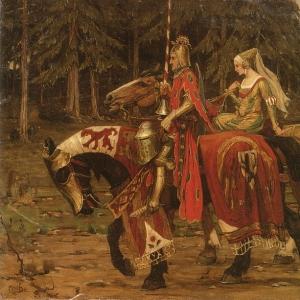 Муха Альфонс Мариа - Геральдическое рыцарство