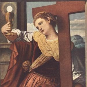 Моретто да Брешиа - Аллегория веры