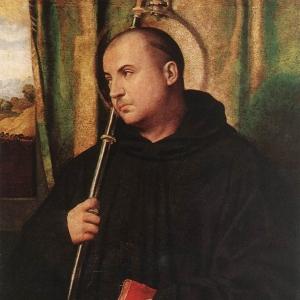 Моретто да Брешиа - Святой монах
