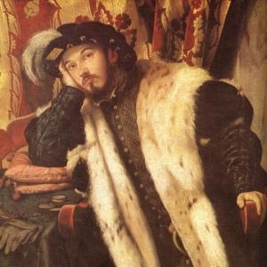 Моретто да Брешиа - Портрет графа Шарра Мартиненго-Чезареско