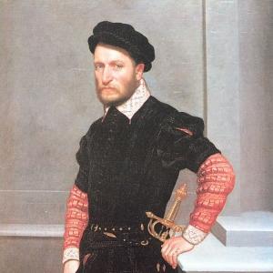 Джованни Баттиста Морони - Портрет герцога Альбукерке, 1560