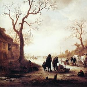 Исаак ван Остаде - Канал
