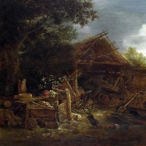 Исаак ван Остаде - Сельский двор