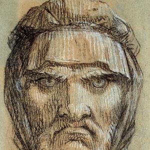 Пьер Поль Прюдон - Голова Плутуса, бога богатства