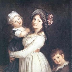 Пьер Поль Прюдон - Женщина с двумя детьми