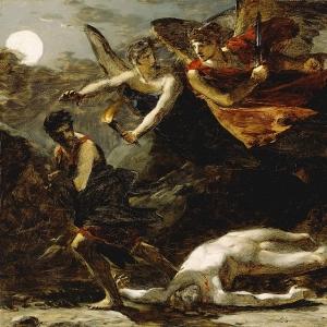 Пьер Поль Прюдон - Правосудие и божественное провидение преследуют преступление