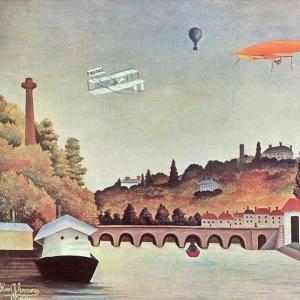 Анри Руссо - Вид с моста Севри